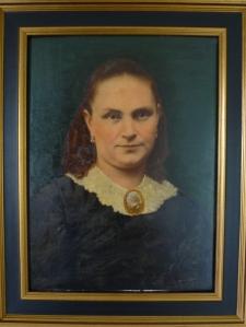 Louise de Waal-van Kraayenoord olieverf