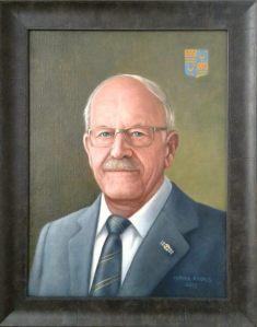 Portret L. de Waal